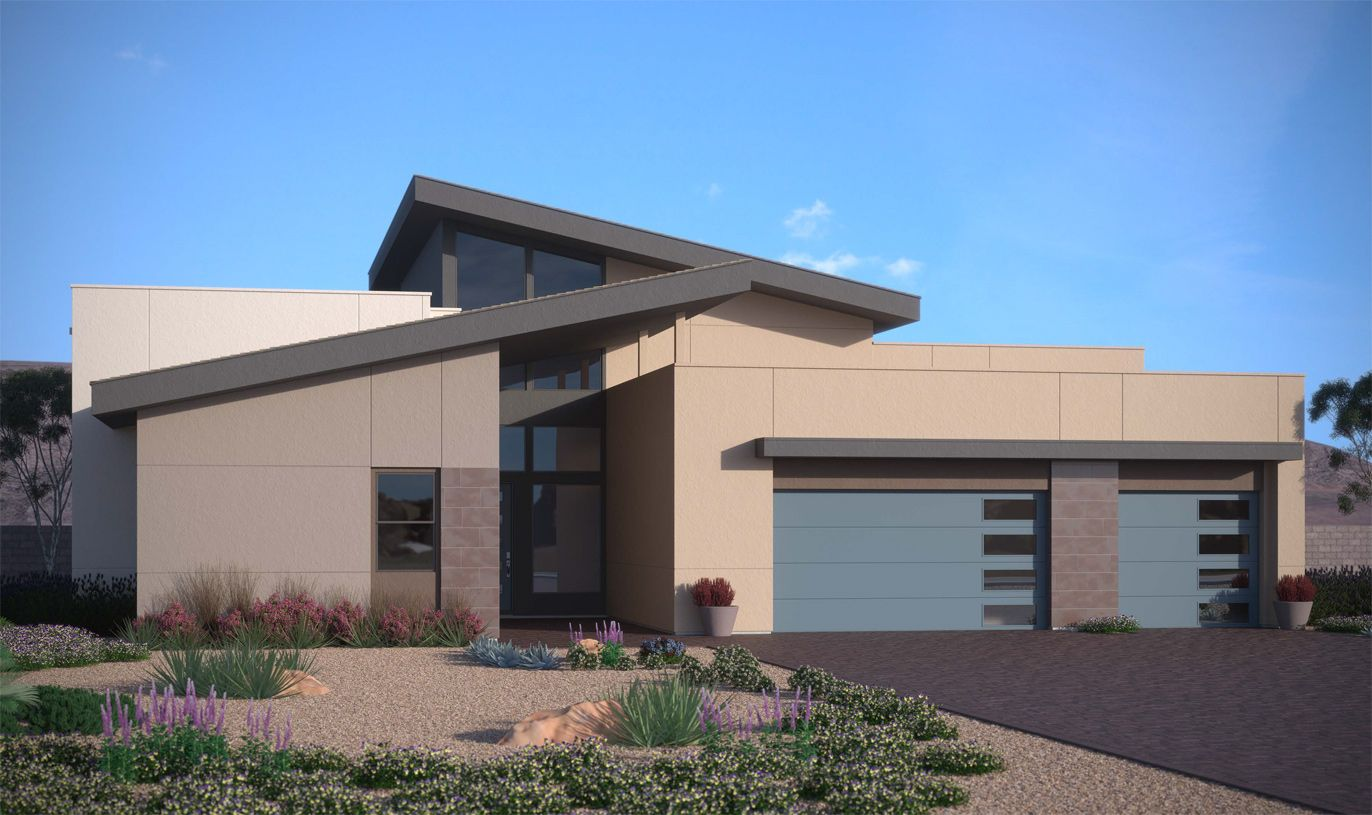 Exterior featured in the Boulder By Toll Brothers in Las Vegas, NV