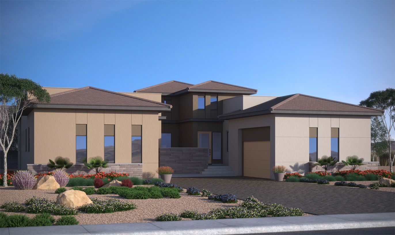 Exterior featured in the Cascade By Toll Brothers in Las Vegas, NV
