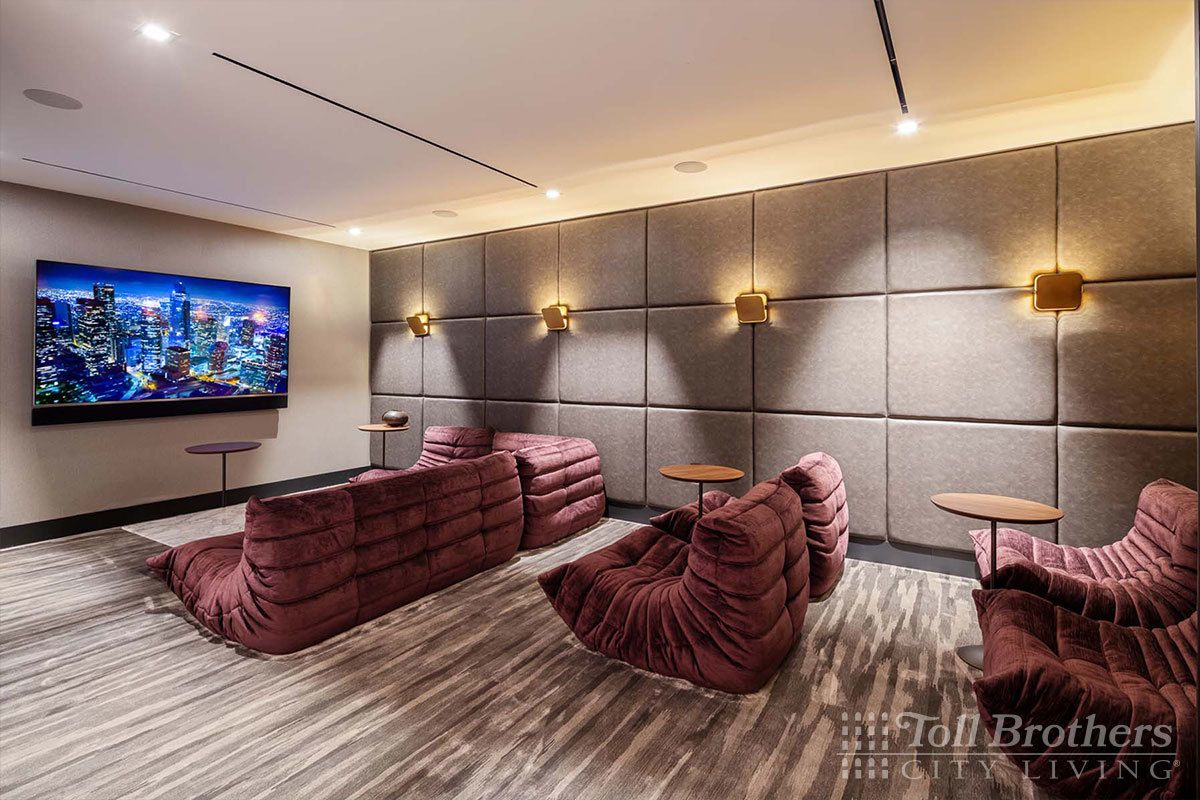 Living Area featured in the 12C By Toll Brothers in New York, NY
