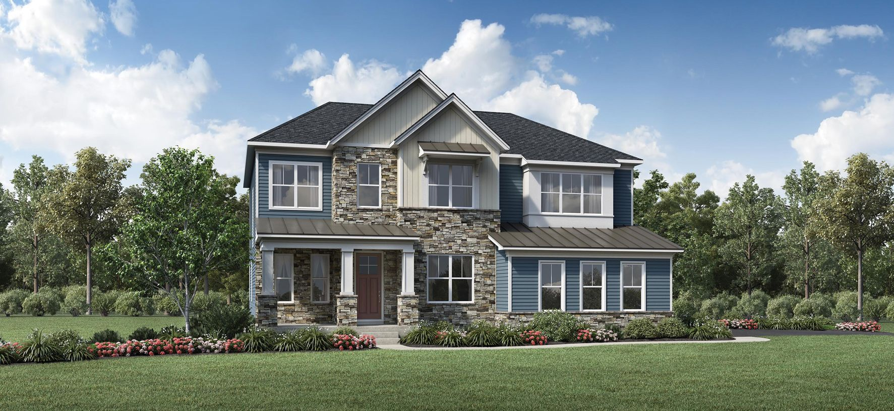 Exterior featured in the Rowling By Toll Brothers in Philadelphia, PA