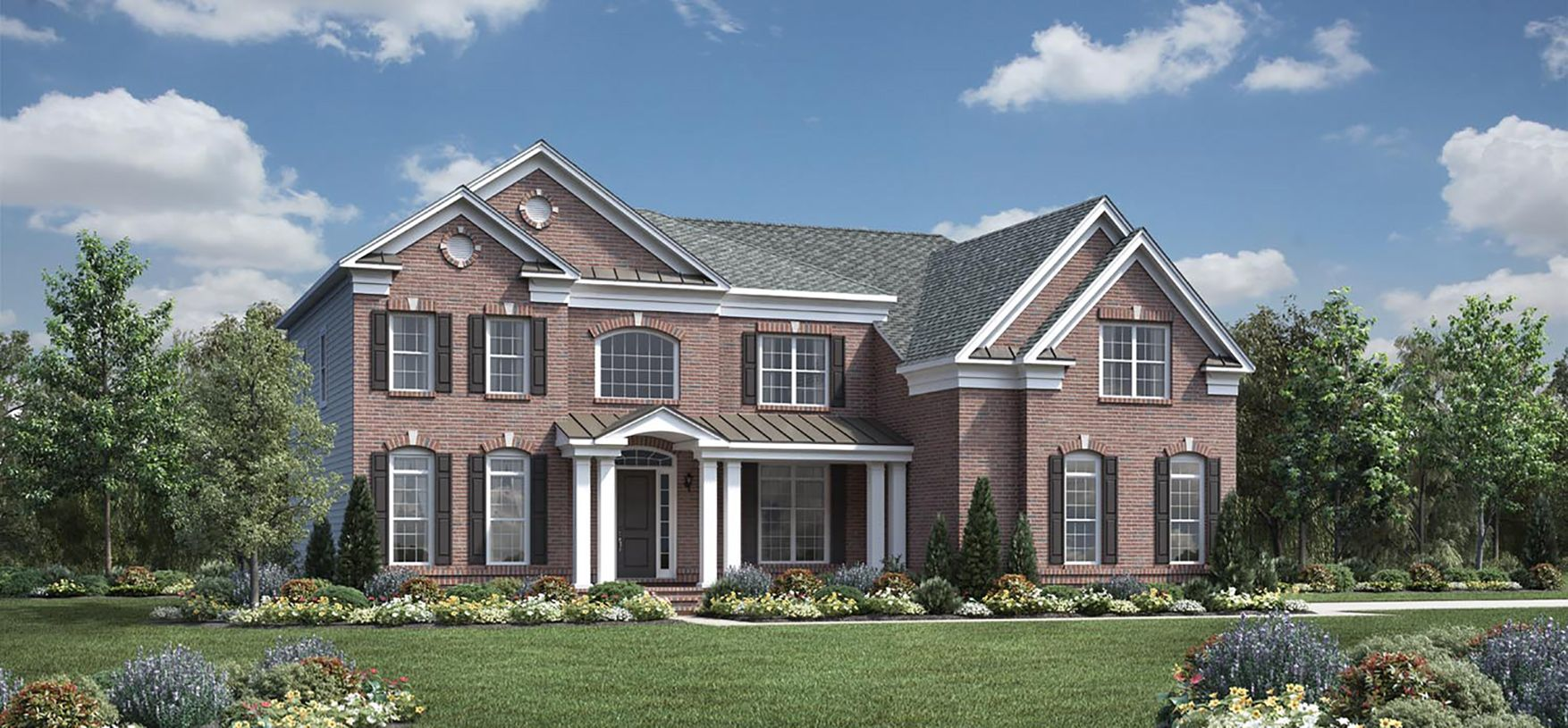 Exterior featured in the Champlain By Toll Brothers in Monmouth County, NJ