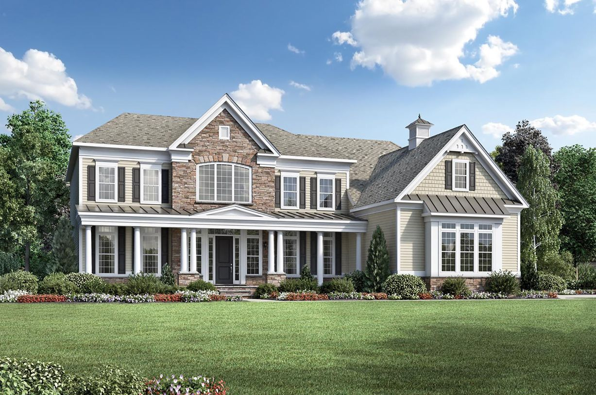 Exterior featured in the Henley By Toll Brothers in Monmouth County, NJ