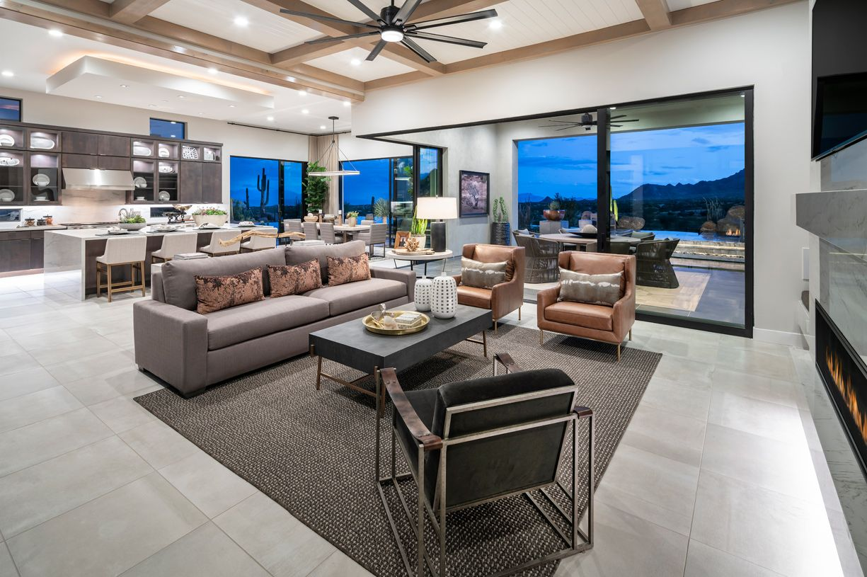 Living Area featured in the Munari By Toll Brothers in Phoenix-Mesa, AZ