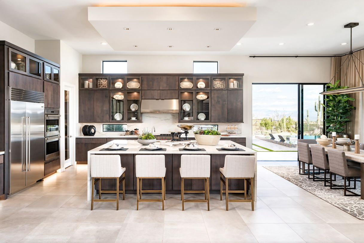 Kitchen featured in the Munari By Toll Brothers in Phoenix-Mesa, AZ