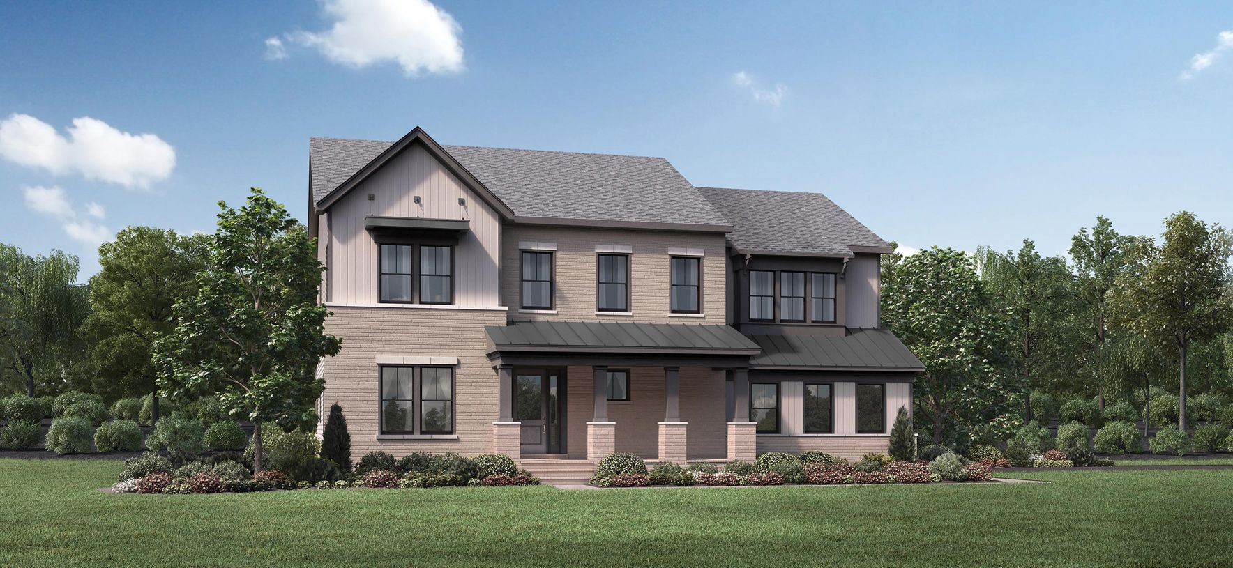 Exterior featured in the Reston By Toll Brothers in Washington, VA