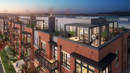 Lofts at Edge-on-Hudson by Toll Brothers in New York New York
