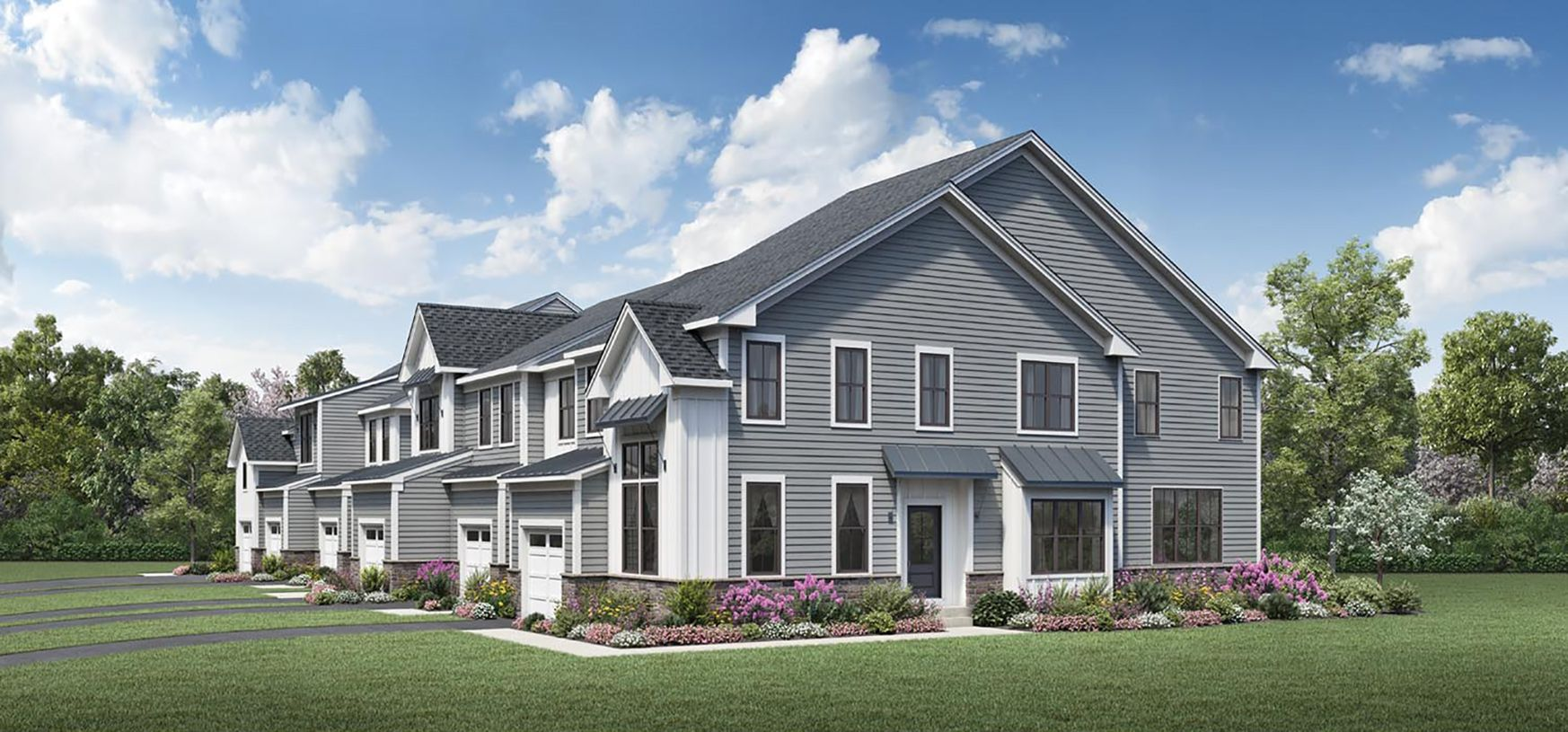 Exterior featured in the Cresheim By Toll Brothers in Philadelphia, PA