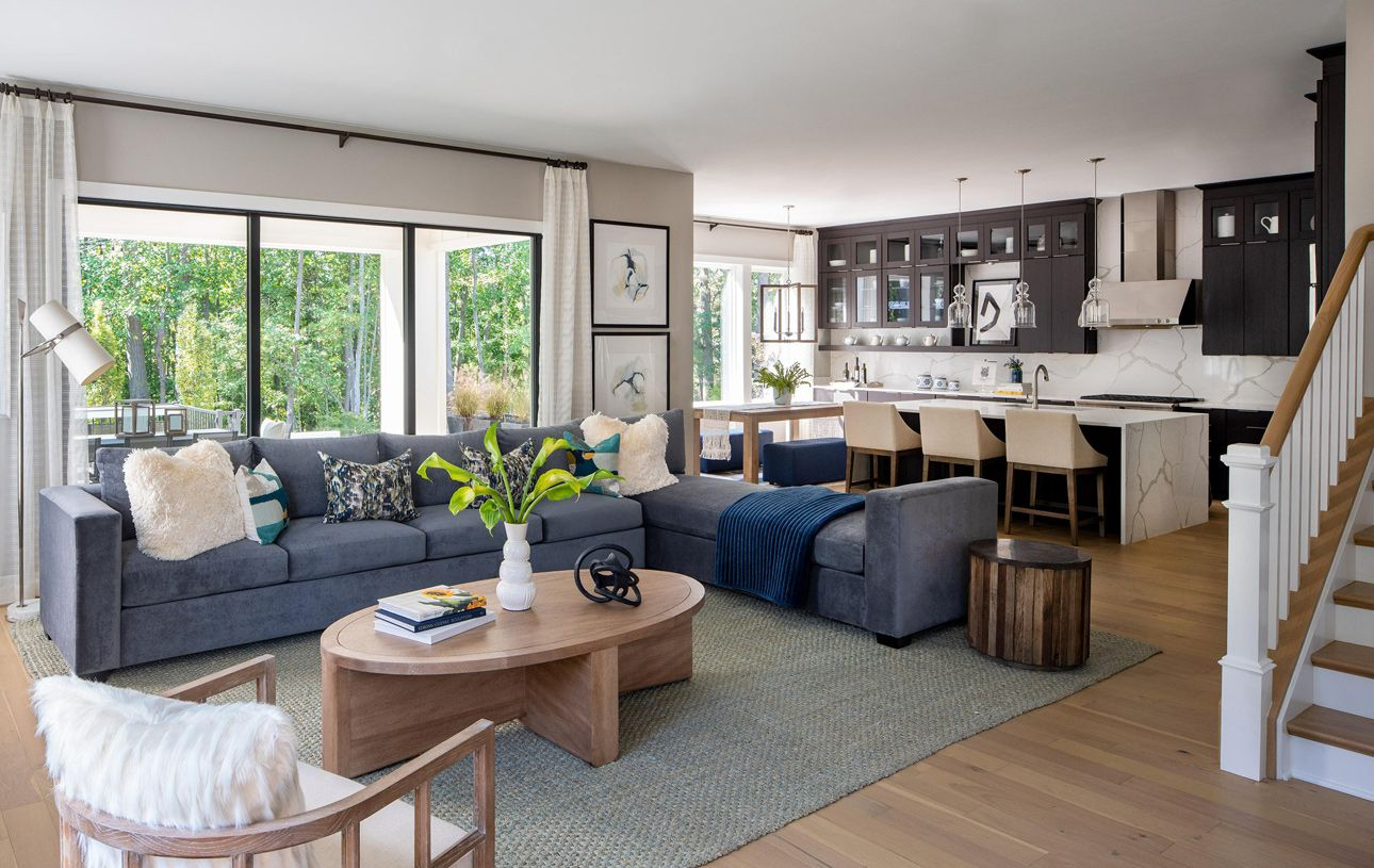 Living Area featured in the Rockledge By Toll Brothers in Baltimore, MD
