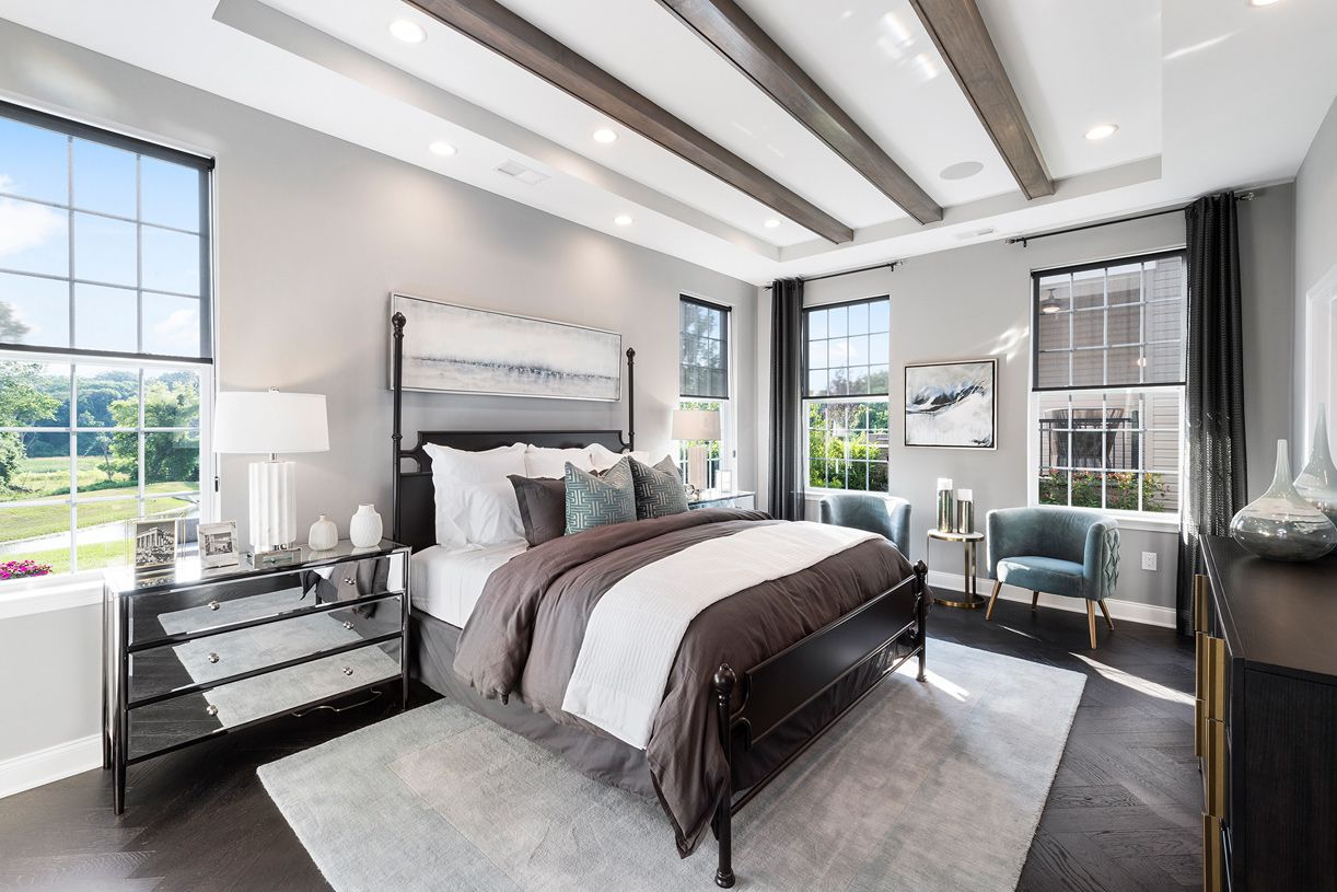 Bedroom featured in the Farmington By Toll Brothers in Monmouth County, NJ