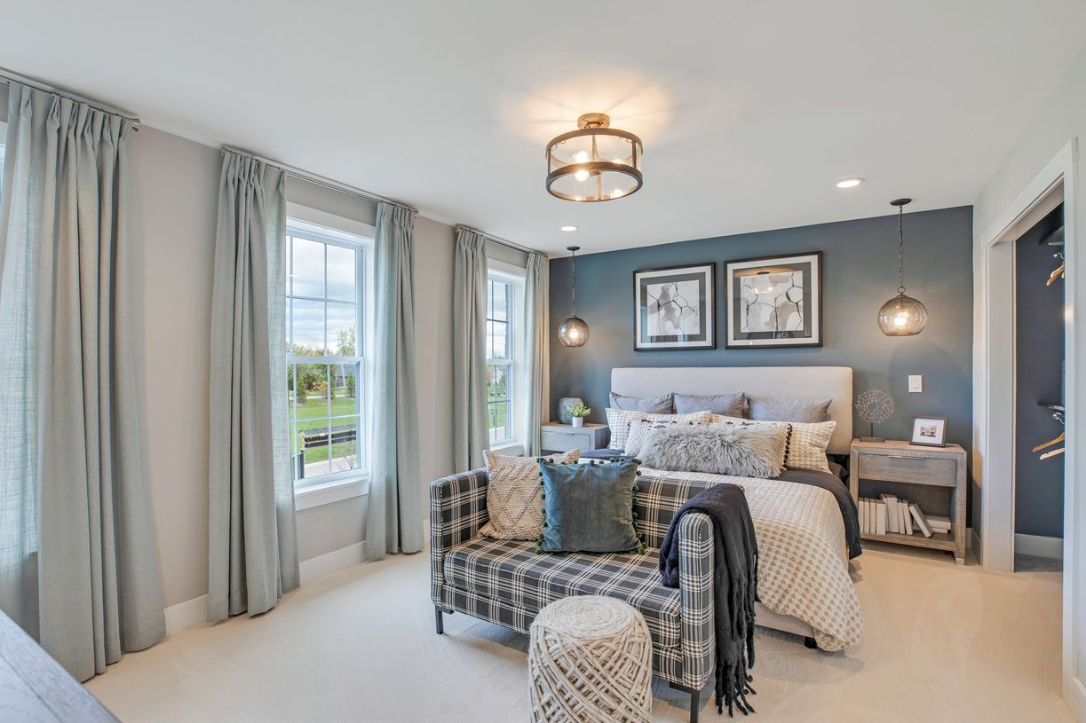Bedroom featured in the Winona By Toll Brothers in Detroit, MI