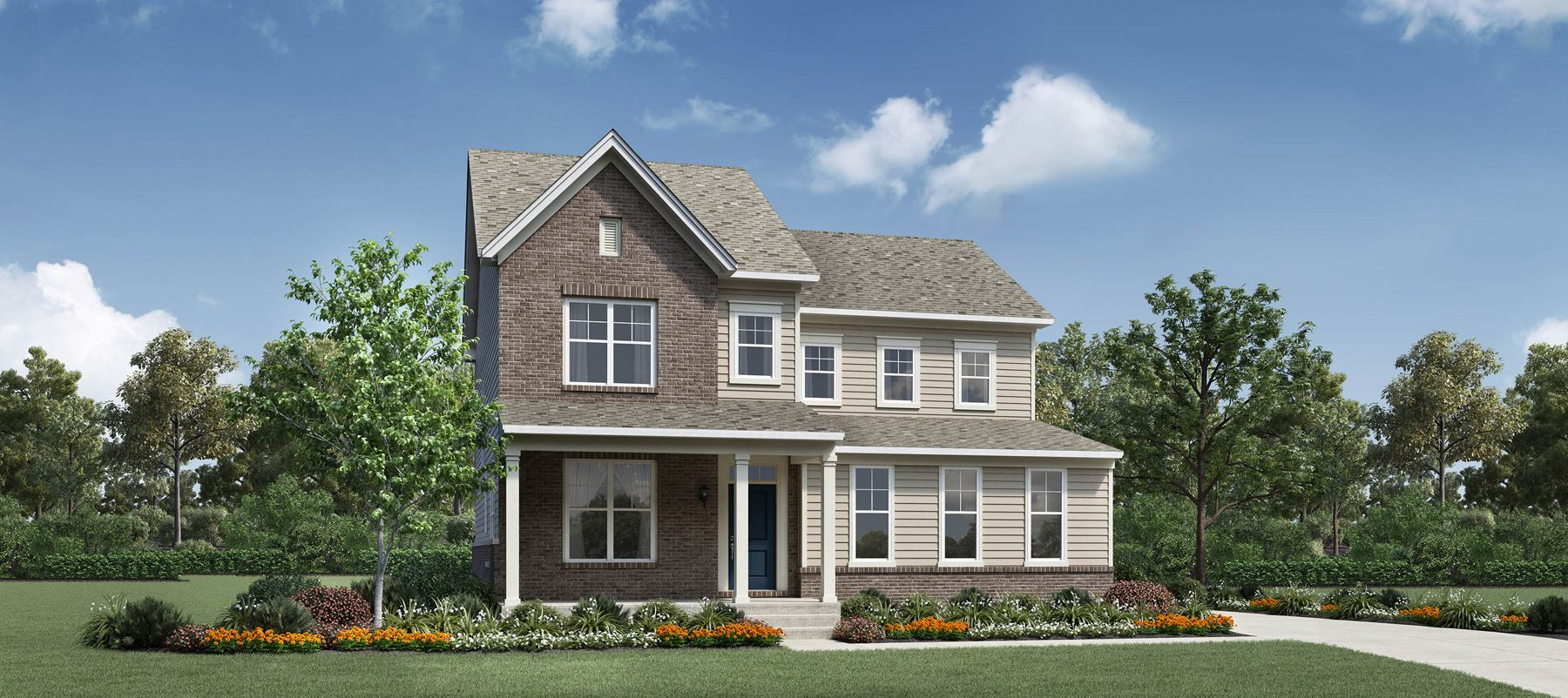 Exterior featured in the Crestwood By Toll Brothers in Ann Arbor, MI