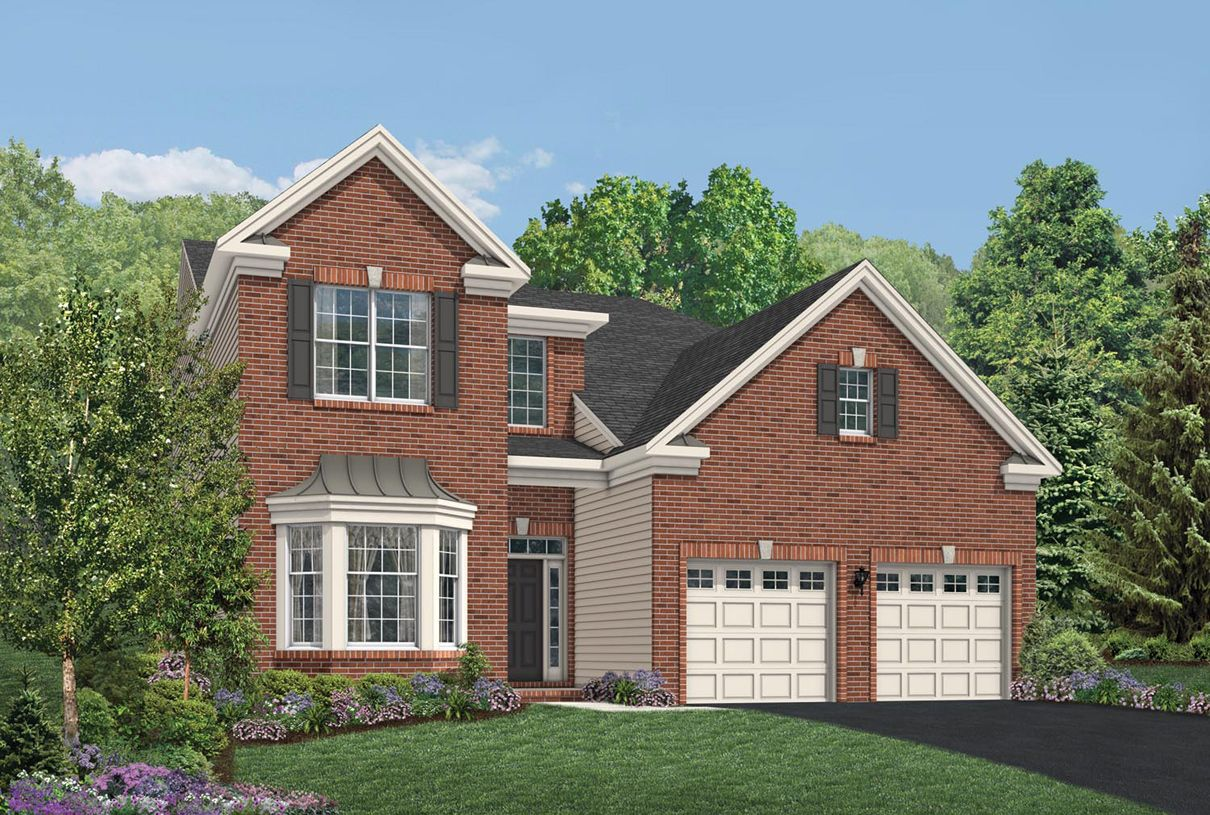 Exterior featured in the Farmington By Toll Brothers in Monmouth County, NJ