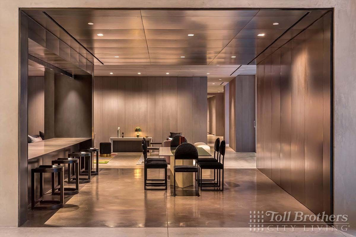 Living Area featured in the N1302 By Toll Brothers in New York, NY