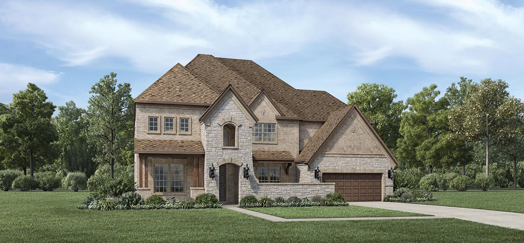 Exterior featured in the Artisan By Toll Brothers in Houston, TX