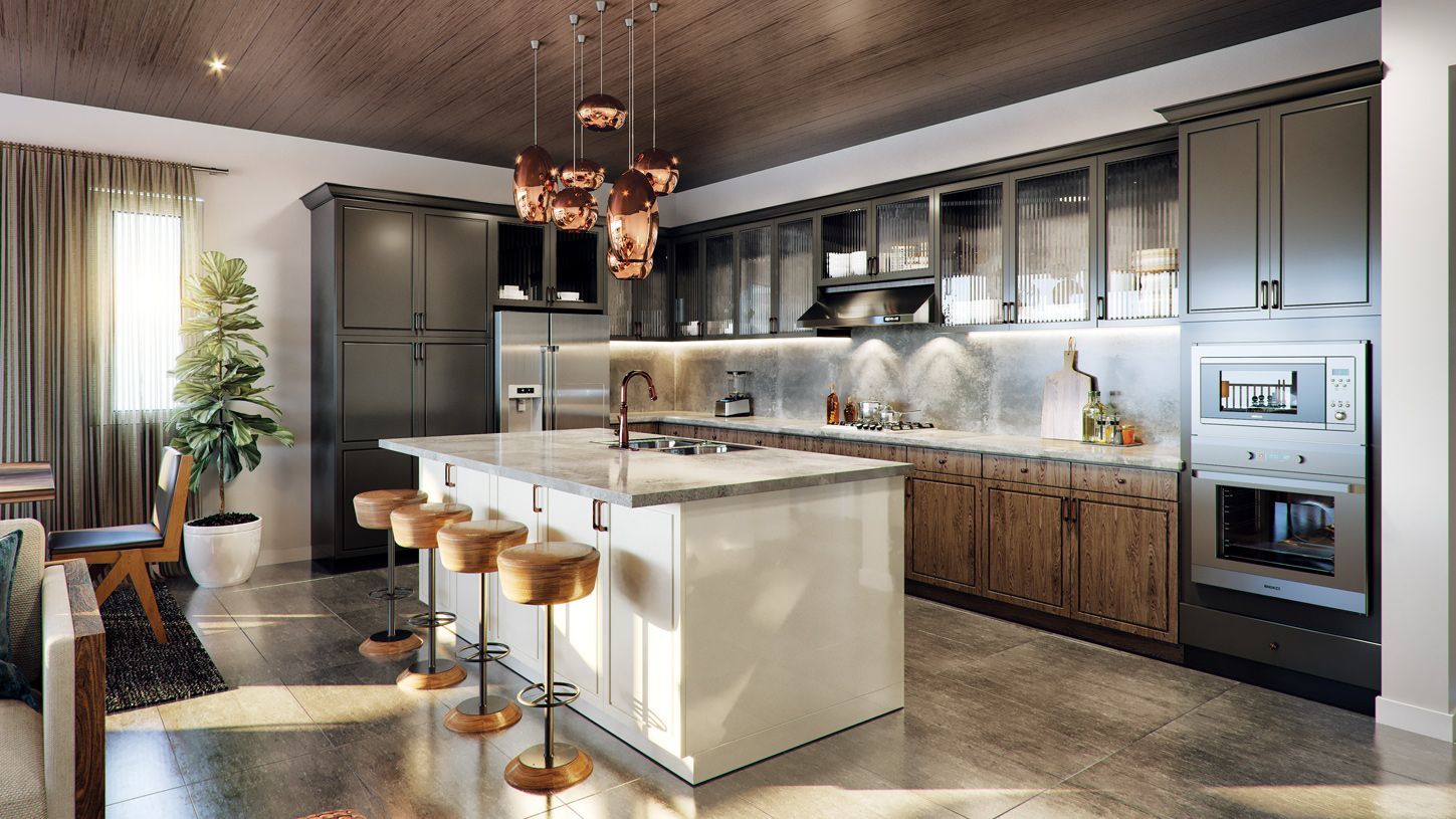 Kitchen featured in the Brenta Elite By Toll Brothers in Las Vegas, NV