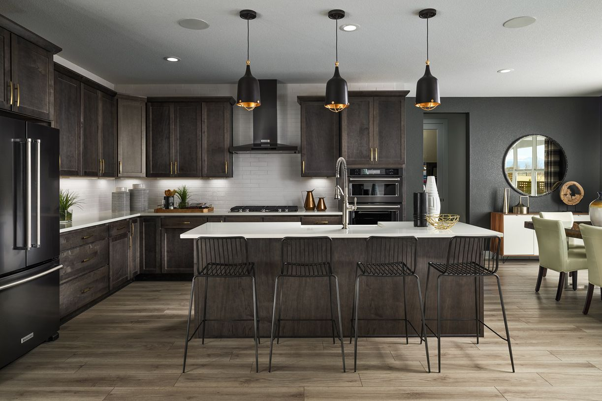 Kitchen featured in the Eldorado By Toll Brothers in Denver, CO