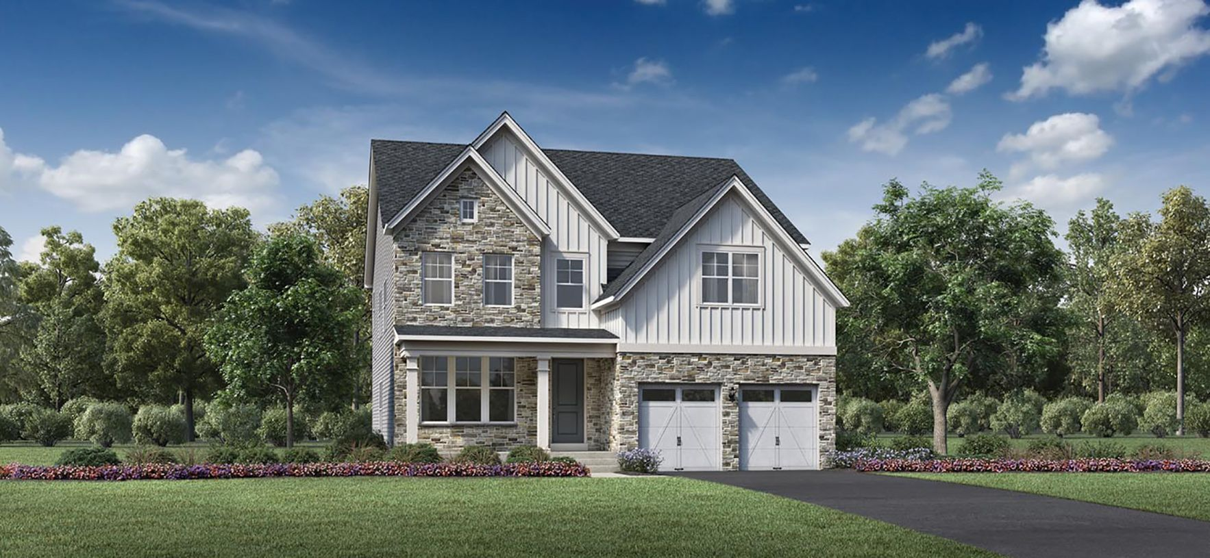 Exterior featured in the Woodbridge By Toll Brothers in Baltimore, MD