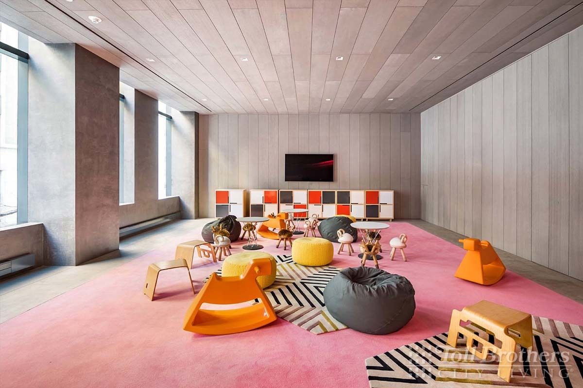 Living Area featured in the N503 By Toll Brothers in New York, NY