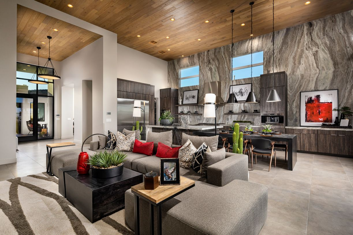 Living Area featured in the Bridge By Toll Brothers in Las Vegas, NV