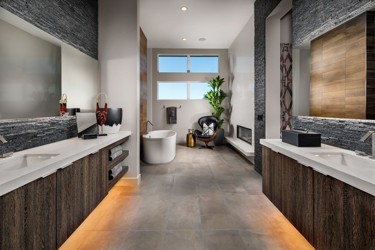 Bathroom featured in the Bridge By Toll Brothers in Las Vegas, NV