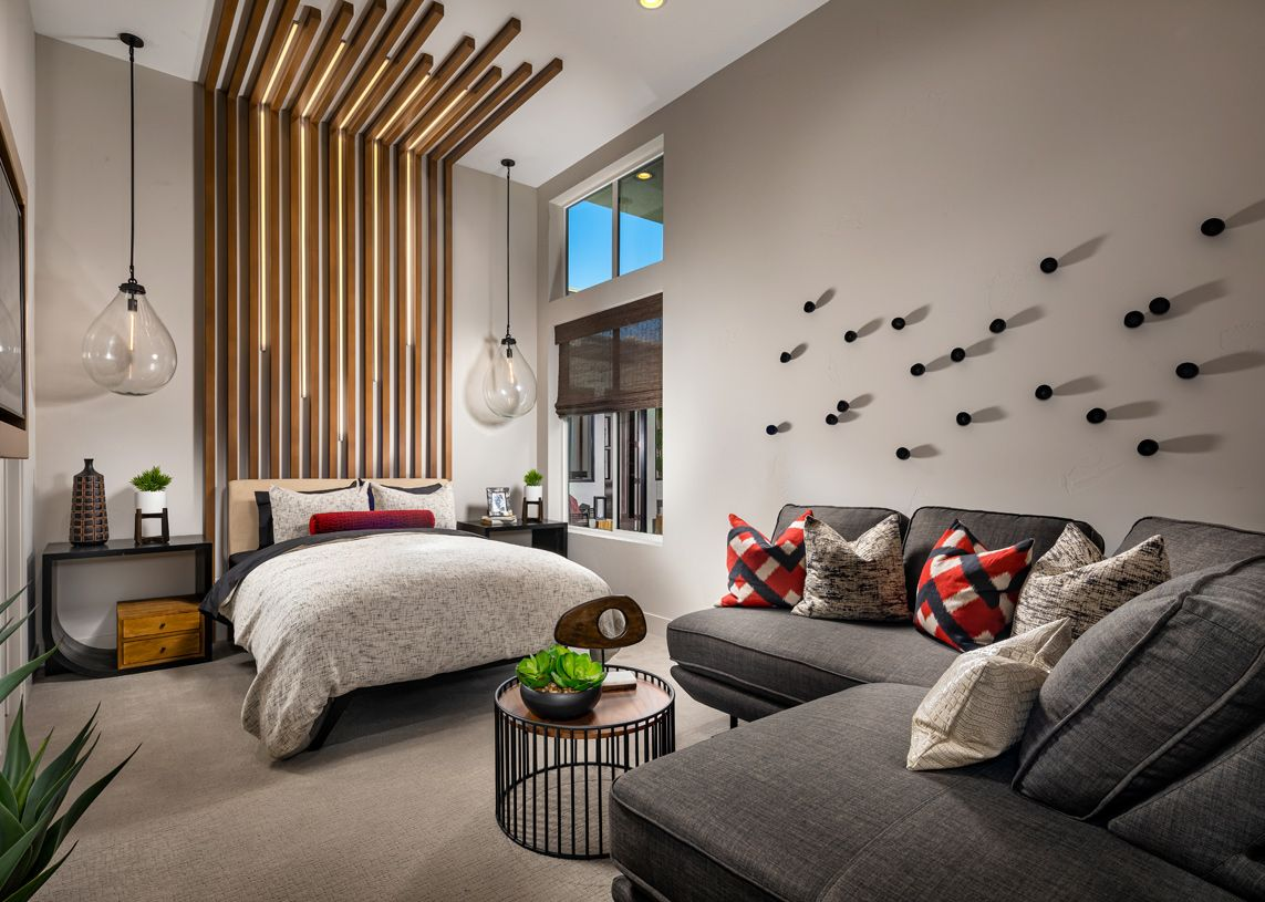 Bedroom featured in the Bridge By Toll Brothers in Las Vegas, NV