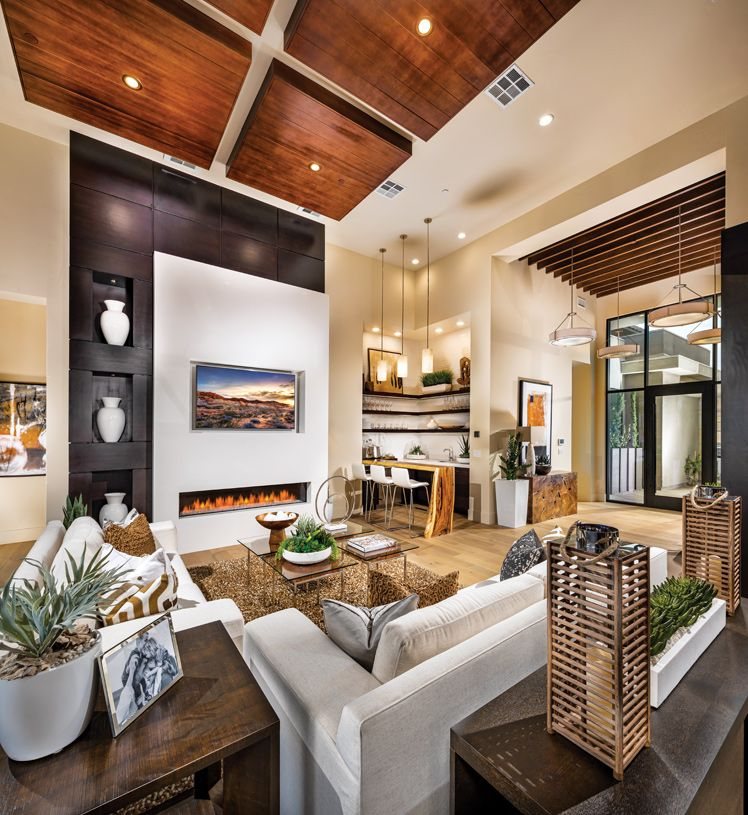 Living Area featured in the Sandstone By Toll Brothers in Las Vegas, NV