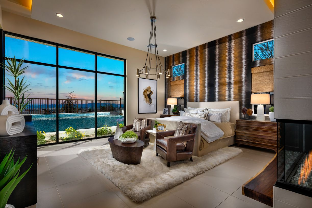 Bedroom featured in the Sandstone By Toll Brothers in Las Vegas, NV