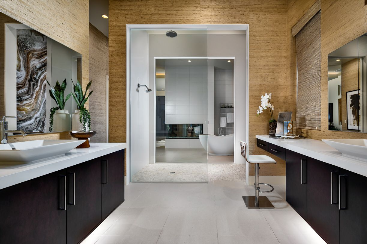 Bathroom featured in the Sandstone By Toll Brothers in Las Vegas, NV