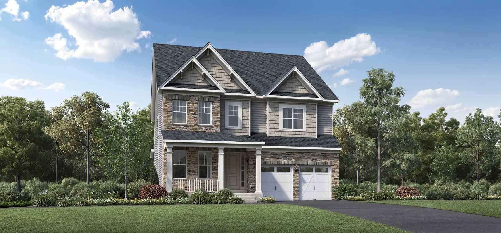Exterior featured in the Finnell By Toll Brothers in Baltimore, MD