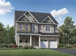 Finnell - Toll Brothers at Turf Valley - Single-Family Homes: Ellicott City, Maryland - Toll Brothers