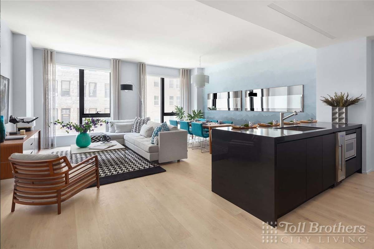 Living Area featured in the S803 By Toll Brothers in New York, NY