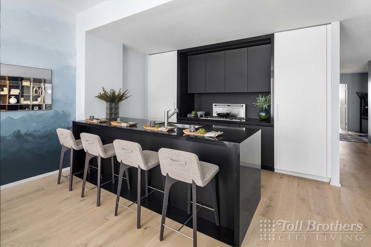 Kitchen featured in the S803 By Toll Brothers in New York, NY