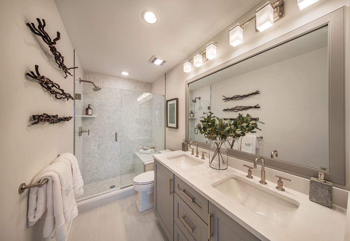 Bathroom featured in the Ansford By Toll Brothers in Danbury, CT