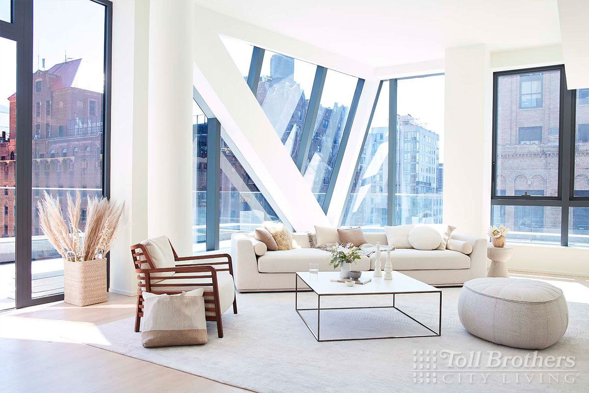 Living Area featured in the N1304 By Toll Brothers in New York, NY