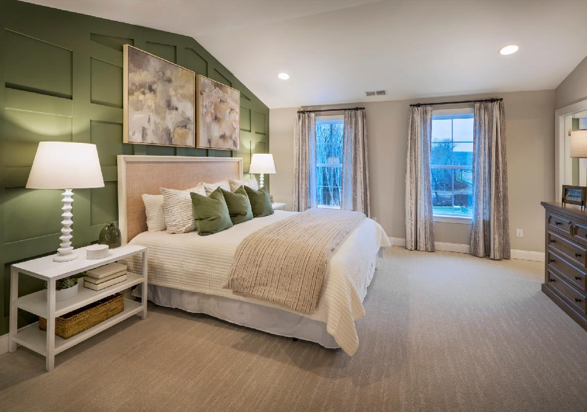 Bedroom featured in the Ansford By Toll Brothers in Danbury, CT