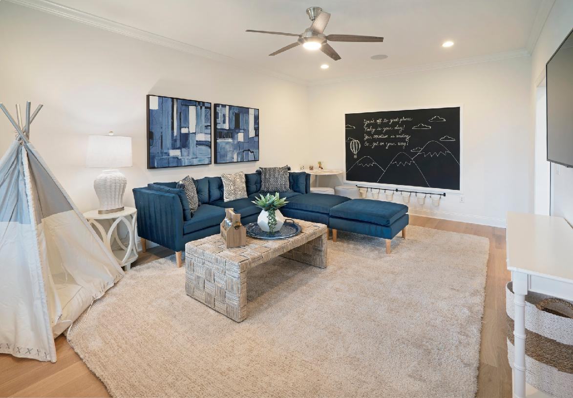 Living Area featured in the Ashbury By Toll Brothers in Danbury, CT