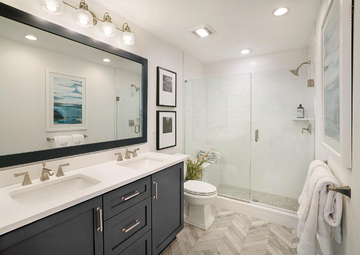 Bathroom featured in the Ashbury By Toll Brothers in Danbury, CT