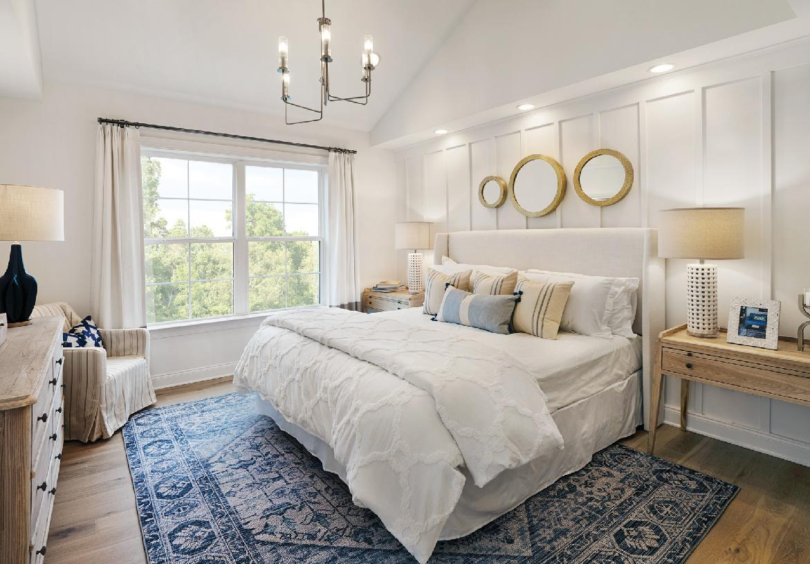Bedroom featured in the Ashbury By Toll Brothers in Danbury, CT