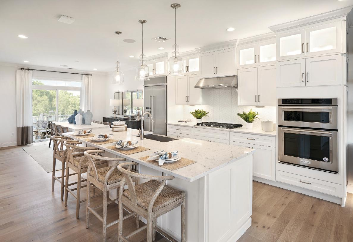 Kitchen featured in the Ashbury By Toll Brothers in Danbury, CT