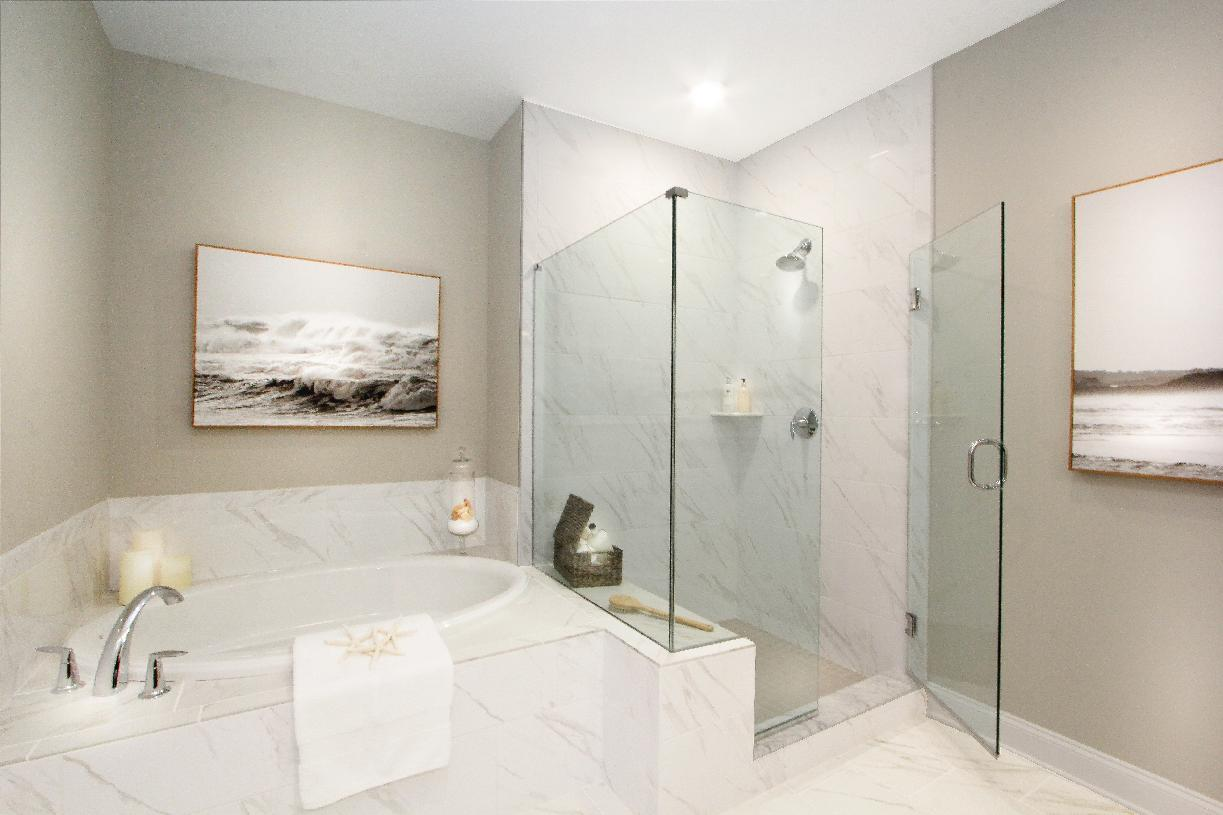 Bathroom featured in the Bethel By Toll Brothers in Boston, MA