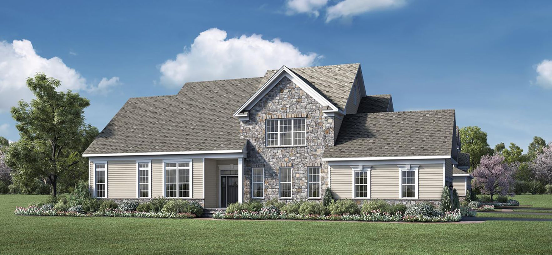 Exterior featured in the Kinkade By Toll Brothers in Bergen County, NJ