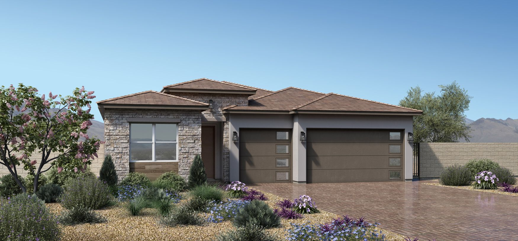 Exterior featured in the Veneta By Toll Brothers in Las Vegas, NV