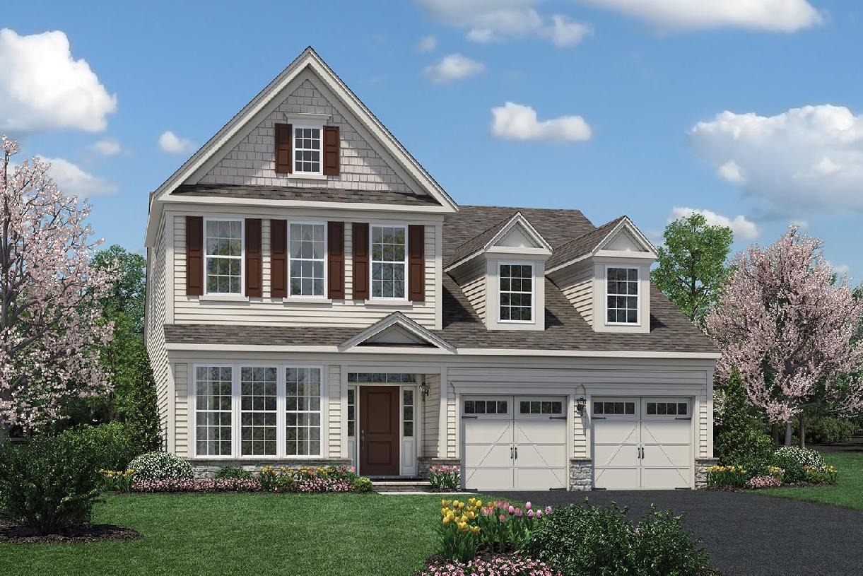 Exterior featured in the Bronson By Toll Brothers in Monmouth County, NJ