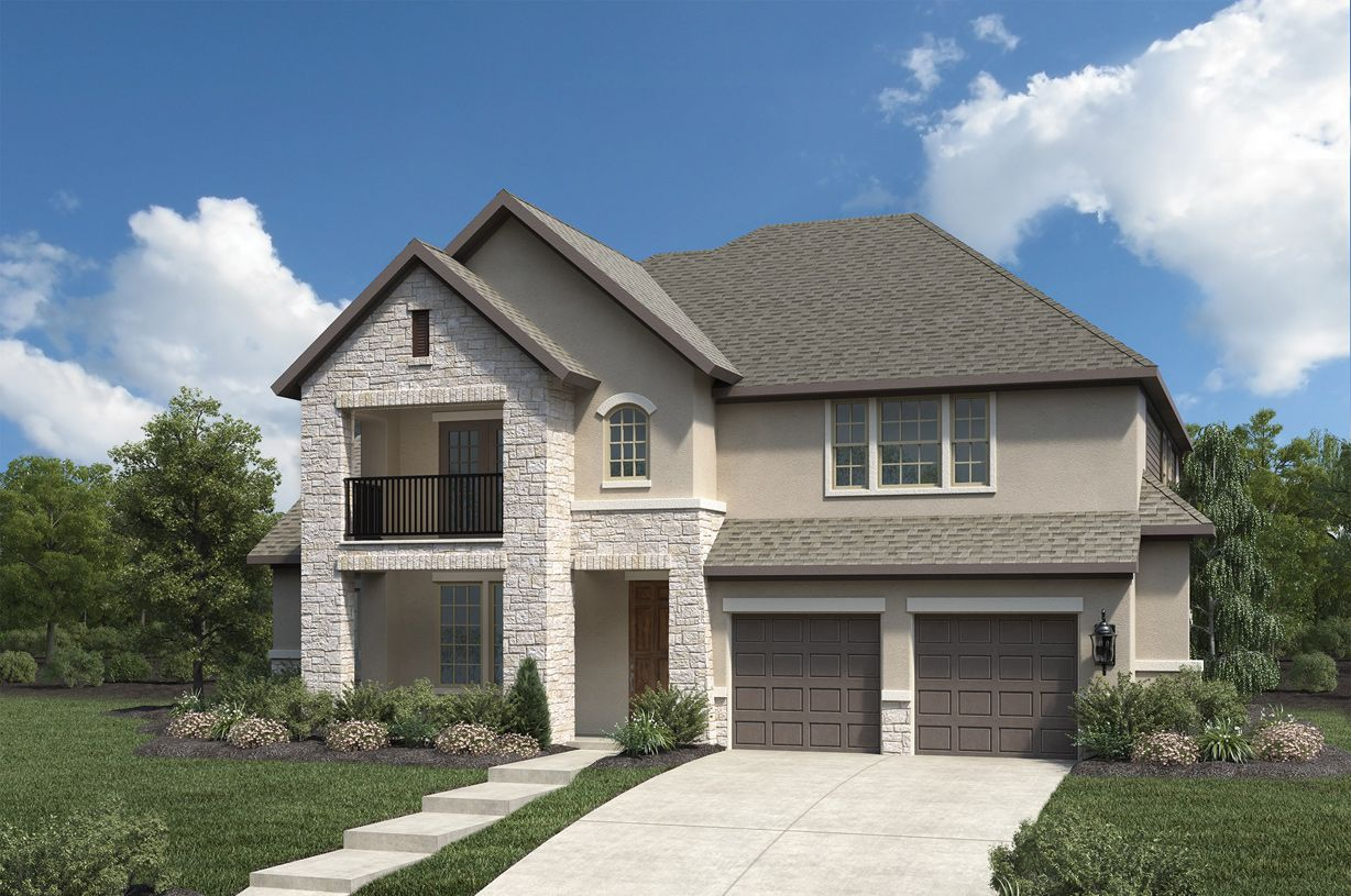 Exterior featured in the Morrison By Toll Brothers in Houston, TX