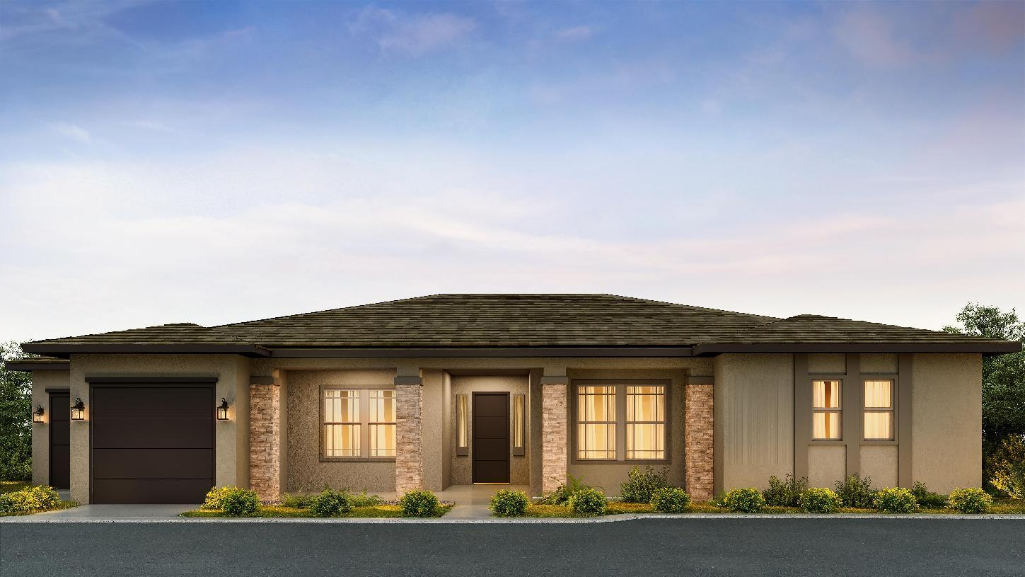 Exterior featured in the Wayland By Toll Brothers in Phoenix-Mesa, AZ