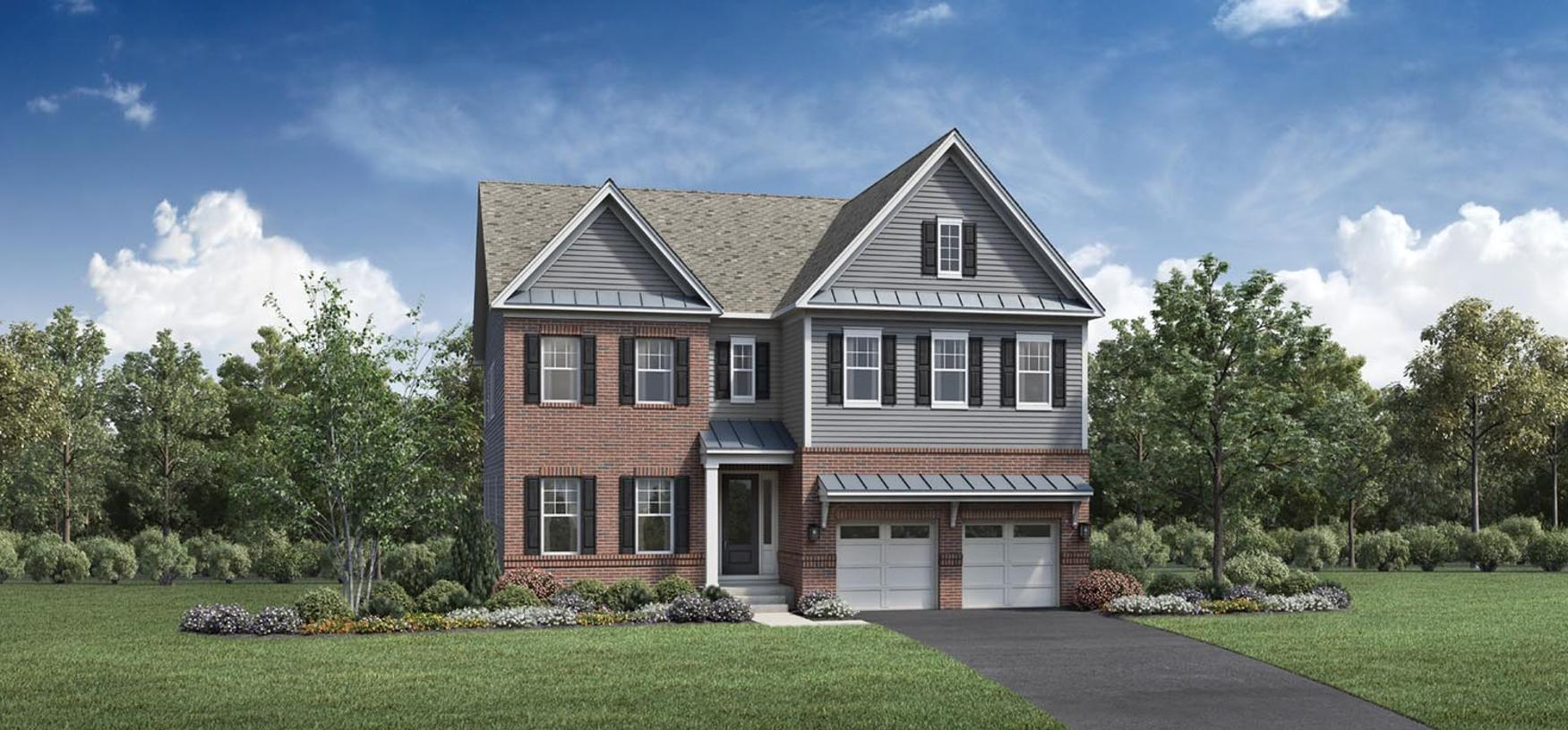 Exterior featured in the Arlen By Toll Brothers in Philadelphia, PA