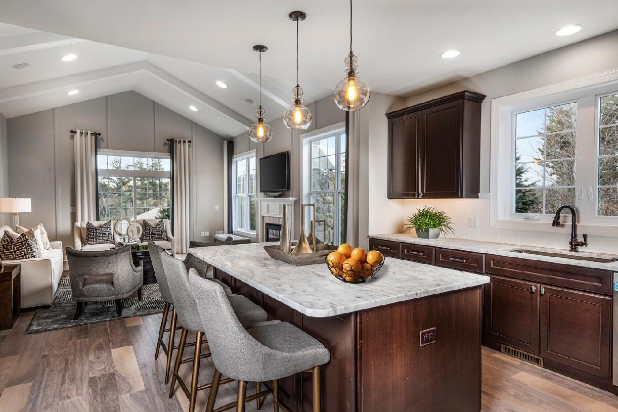 Kitchen featured in the Bucknell II By Toll Brothers in Waterbury, CT