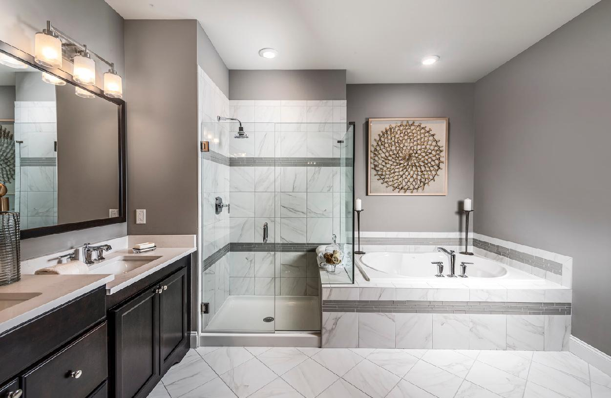 Bathroom featured in the Bucknell II By Toll Brothers in Waterbury, CT