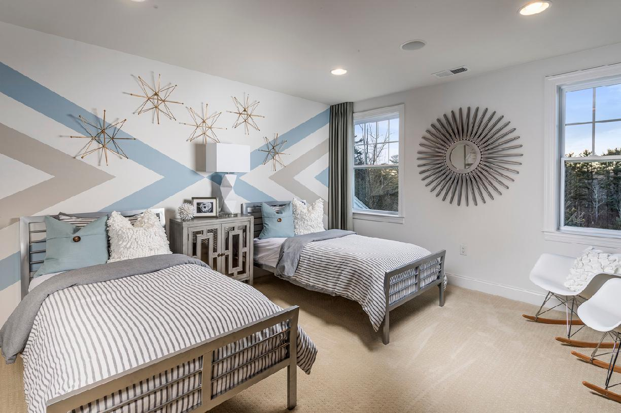 Bedroom featured in the Bucknell II By Toll Brothers in Waterbury, CT