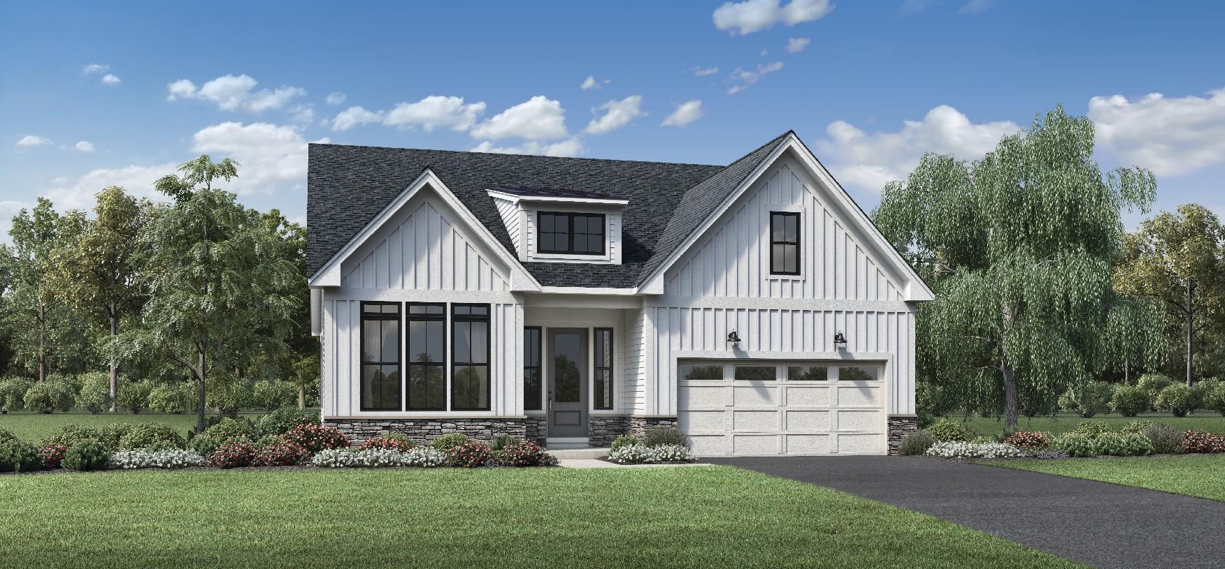 Exterior featured in the Barnston By Toll Brothers in Philadelphia, PA